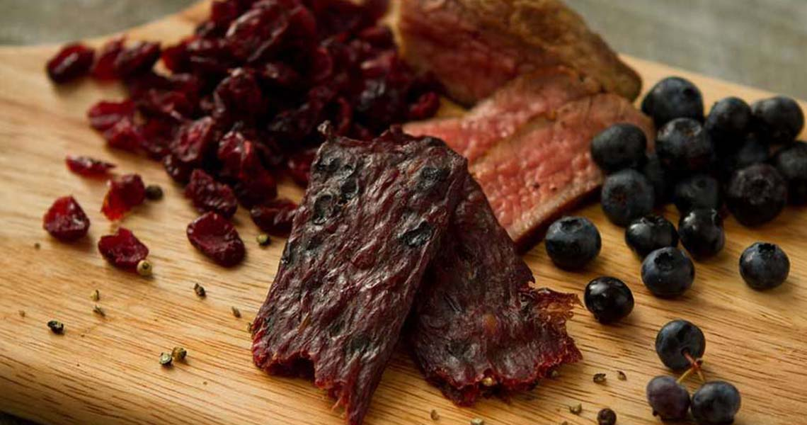 Wild Berry Dried Beef