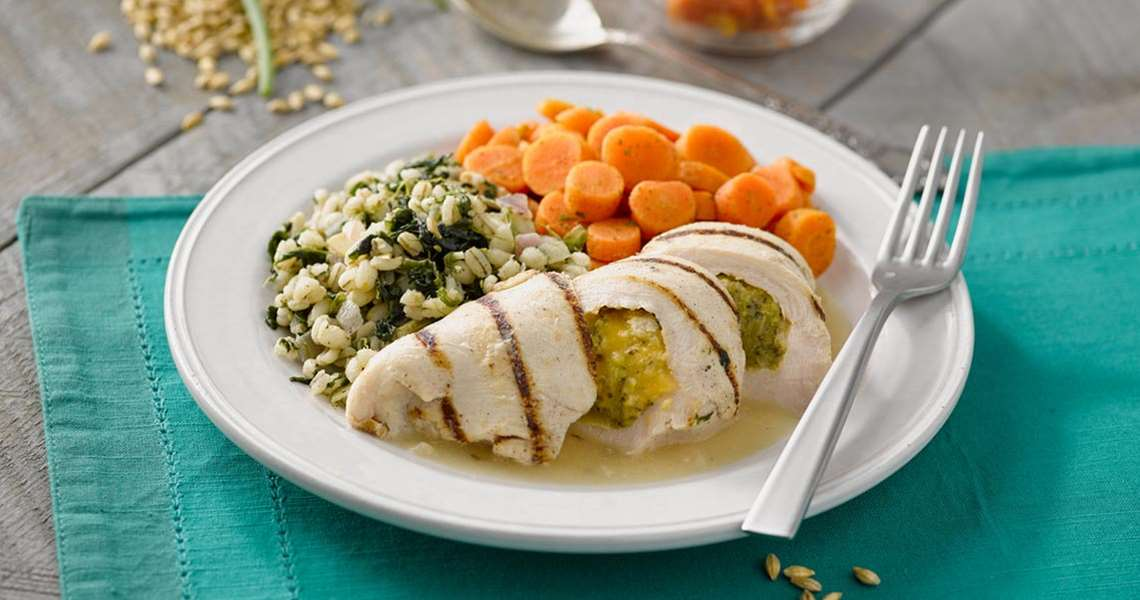 Broccoli Cheddar Stuffed Chicken
