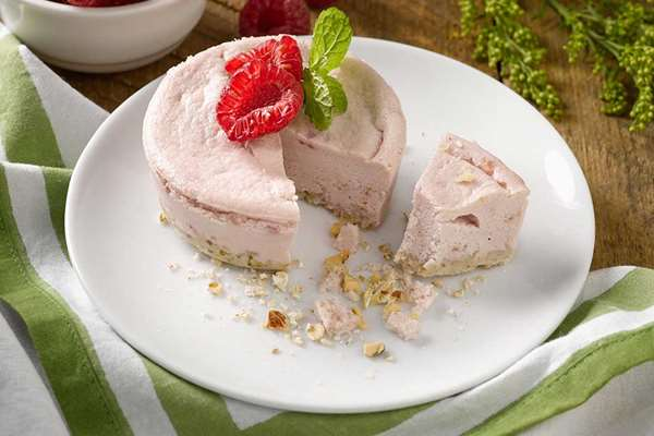 Sweet Red Raspberry Cheesecake - 5 Count